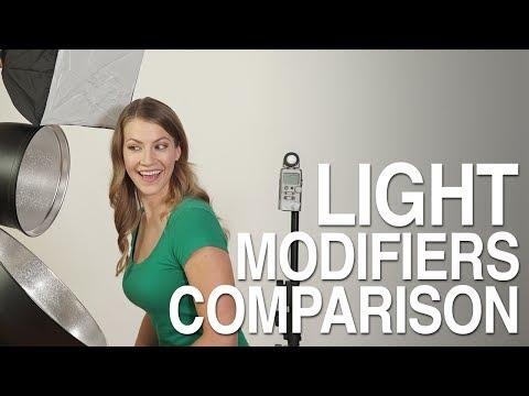 Light Modifiers Comparison