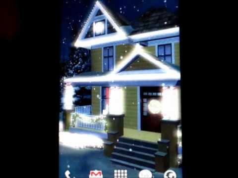 Holiday Lights Live Wallpaper
