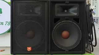 Crown 2000tx + Jbl Jrx115 Bass 4 Tấc