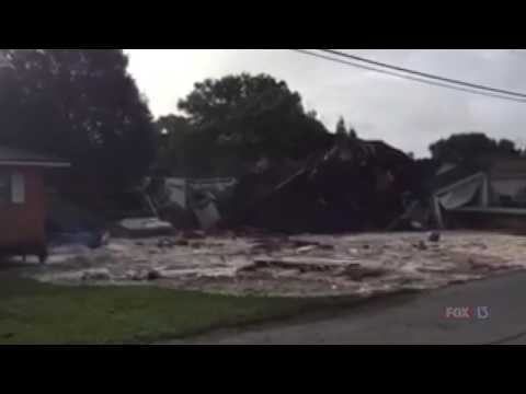 First video: Sinkhole swallows Land O' Lakes home