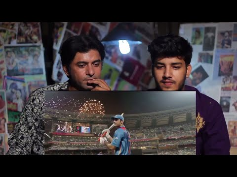 Pakistani Reacts To   M.S.Dhoni The Untold...