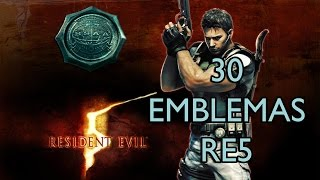 Canal GV - Resident Evil 5 - Localiza��o dos 30 emblemas da BSAA ~ By: GOLD