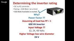 Design of solar PV system: Solar panel for home