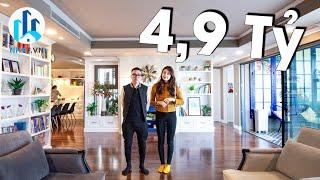 Trải Nghiệm Căn Hộ Trị Giá 4,9 TỶ rộng 158m2 tại Aquabay Sky Residences, Ecopark - NhaF [4K]