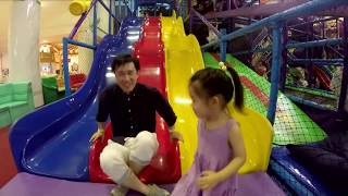 Indoor playground fun Cool play with the slide of playtime Playground Fun Play Place