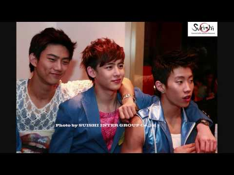 [ENG] Taecyeon and Nichkhun on Jay's myspace controversy (2PM/Hottest fan meeting, 100227)