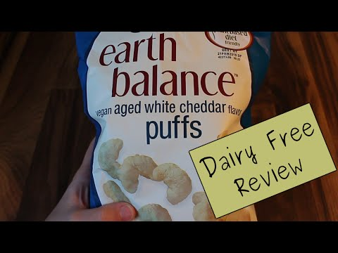 Dairy Free Food Review: Earth Balance Cheese Puffs