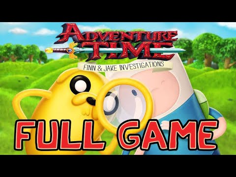 Adventure Time Finn And Jake Investigations FULL GAME Longplay (PS3)