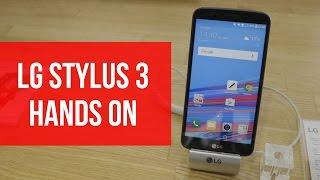 LG Stylus 3 Hands On