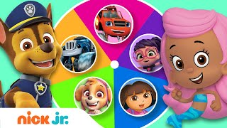 Guess the Missing Colors w/ PAW Patrol, Blaze & More! 🌈 | Color Games | Nick Jr.