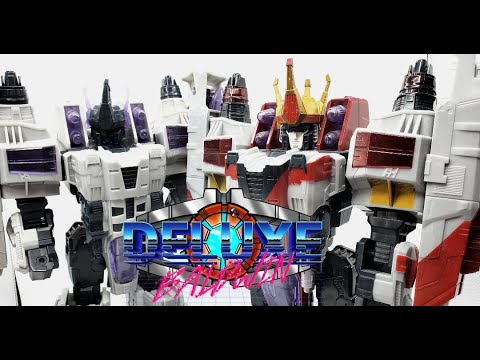 Prototype Cybertron King Starscream Review by Deluxe Baldwin