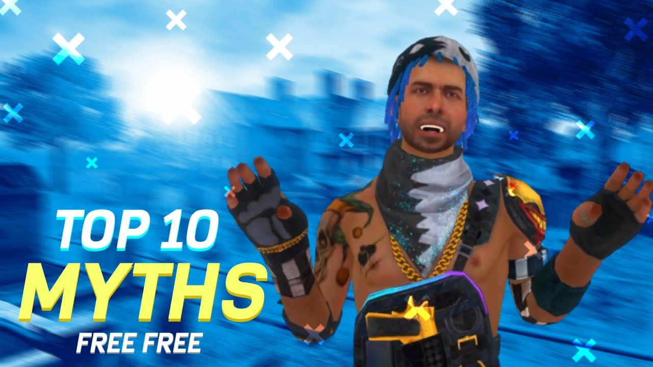 Top 10 Mythbusters In FREE FIRE Battleground | FREE FIRE Myths #02