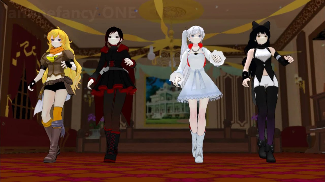 Rwby Mmd Ep 3 Dance Dance Infiltration Outdated Youtube
