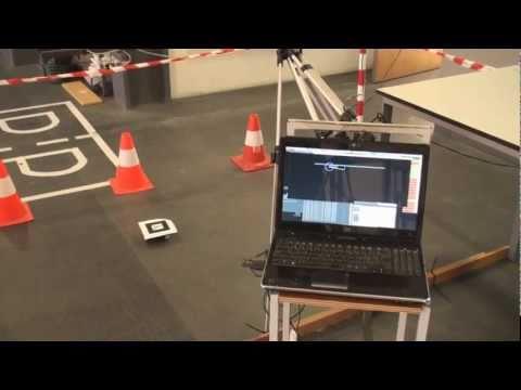vision-based trajectory control: artoolkit + arduino fio robot + xbee