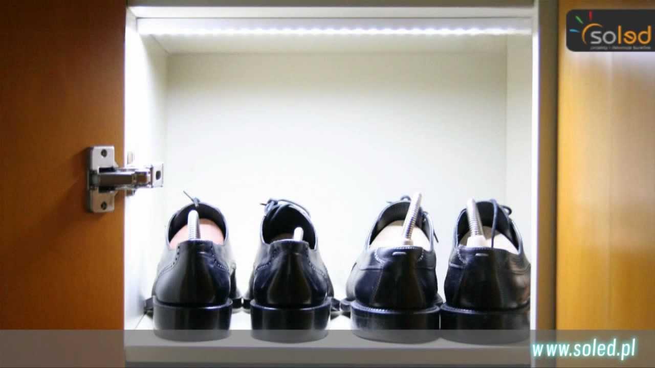 Oświetlenie Garderoby Szafy Drążek Ubraniowy Led Do Szafy Oświetlenie Meblowe