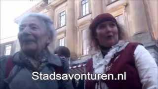 Sint Maartensmarkt jaarmarkt Utrecht 2014: Catootje zingen met Stadsavonturen