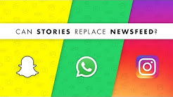 Stories Vs Newsfeed - Which Format Will Dominate Social Media? Social Media Minute