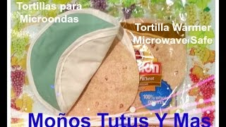 TORTILLERO PARA MICRO Paso a Paso TORTILLA WARMER Tutorial DIY How To Step by Step PAP Video 135