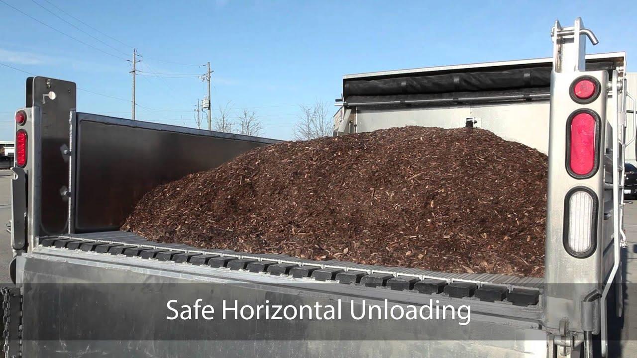 KEITH® WALKING FLOOR® Contractor Unloading System   YouTube