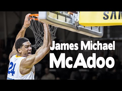 James Michael McAdoo | Santa Cruz Warriors Shootaround | Shot Science Basketball