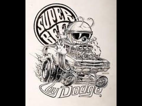 Ed Big Daddy Roth Car Drawings Customs Rat Fink Youtube