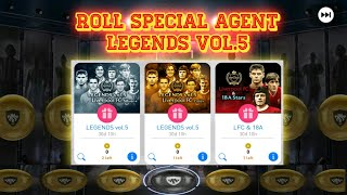 Pes 2018 Mobile   Roll  Special Agent Legends Vol.5