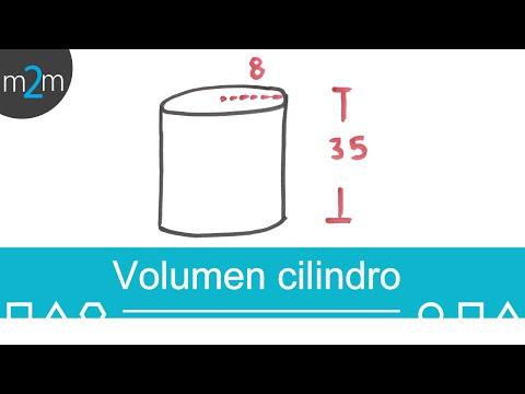 * Volumen de un cilindro
