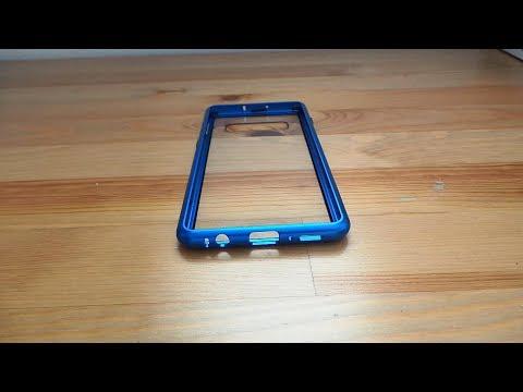 Металлический магнитный чехол для Samsung Galaxy S10 Plus с Алиэкспресс