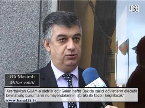 Azərbaycan GUAM-a sədrlik edir