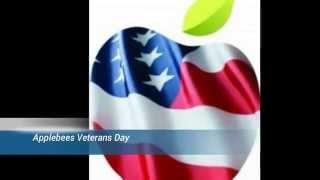 Applebees Veterans Day