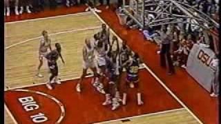 Dennis Hopson breaks OSU basketball Scoring record-1987