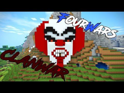 FourWars | ClanWar | Клан клоунов