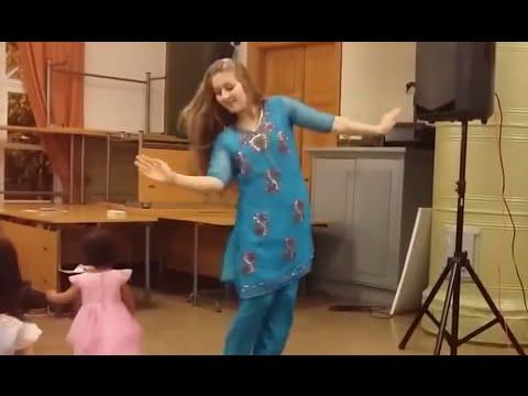 Afghan Dance By Swedish Girl