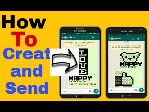 How to Create and Send Text Emoticons on whatsapp!!!