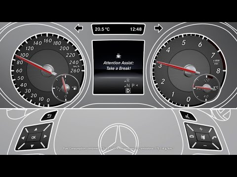 The gla attention assist mercedes benz original youtube for Mercedes benz attention assist