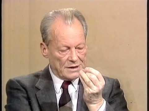 Ausschnitt ARD/ZDF Bundestagsrunde 10.3.1985