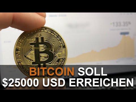 BITCOIN SOLL $25000 ERREICHEN