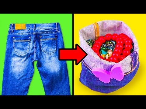 17 COOL JEANS HACKS AND CRAFTS