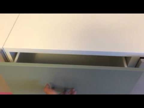 ikea best schubladenschiene drucksystem youtube. Black Bedroom Furniture Sets. Home Design Ideas