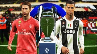 PES 2019 - Juventus vs Real Madrid - Final UEFA Champions League [UCL] - Ronaldo vs Real Madrid