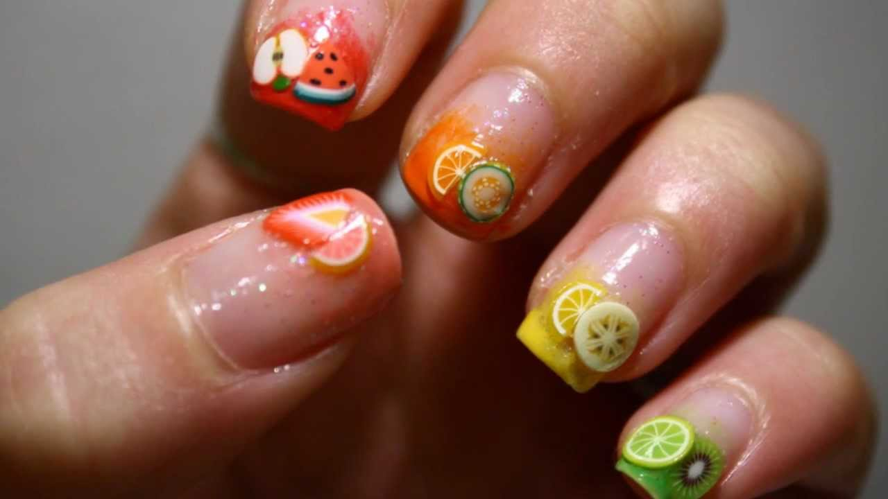 Tutti i frutti tutorial nail art hd youtube tutti i frutti tutorial nail art hd prinsesfo Image collections