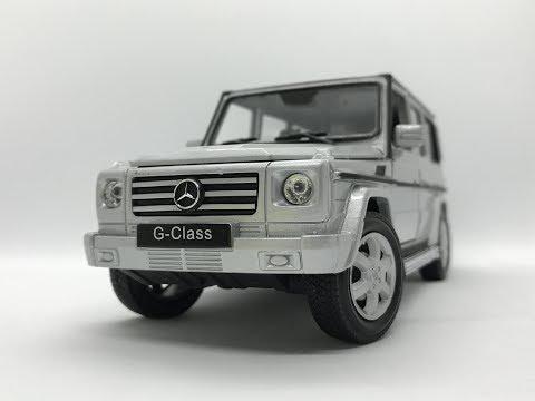 웰리 1:24 메르세데스 벤츠 G클래스/G바겐 2세대 다이캐스트(Welly Mercedes-Benz G-Class/G-Wagen W463 Diecast model)