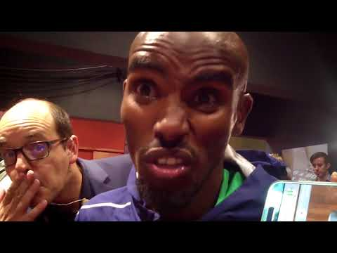 Mo Farah after crazy win in final career track race at 2017 Weltklasse Zurich