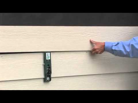 Gecko Gauge Clamps Helps Install Fiber Cement Siding Up To