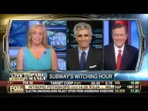 Bruce Turkel on Fox Business: New ad campaigns - Subway and Dominos