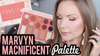 BH Cosmetics Marvyn Macnificent Palette! Swatches, Review, & Tutorial! | LipglossLeslie