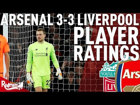 Mignolet Gets A 4!   Arsenal v Liverpool 3-3   Jonathan's Player Ratings