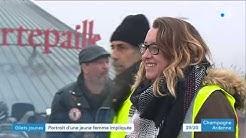 Romilly-sur-Seine : Laurie, une jeune femme impliquée dans les gilets jaunes