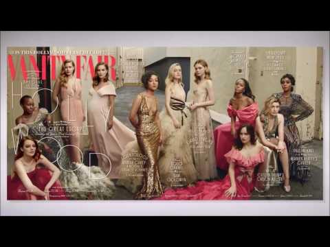 Behind The Scene of the 2017 Vanity Fair Hollywood Issue - Dakota Johnson