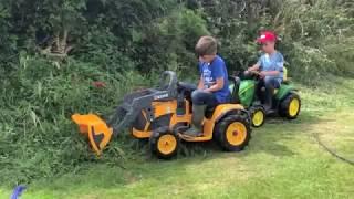TRACTORS FOR KIDS - JOHN DEERE, TRACTOR VIDEOS FOR CHILDREN